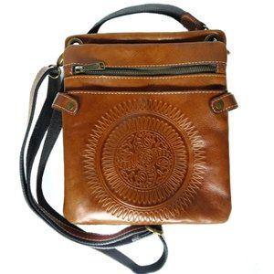 Patricia Nash Francesca Hand Tooled Leather Bag